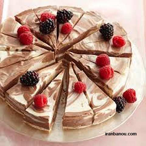 انواع چیز کیک,طرز تهیه چیز کیک توت فرنگی