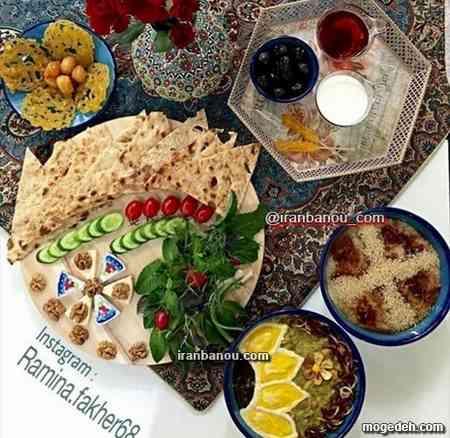 تزیین خرما با خمیر,تزیین خرما به شکل اناناس,تزیین خرما برای سفره افطار