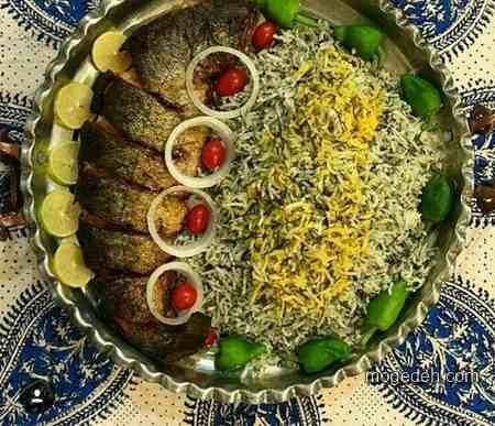 عکس تزیین سالاد کاهو,عکس تزیین برنج,تزیین غذای ایرانی