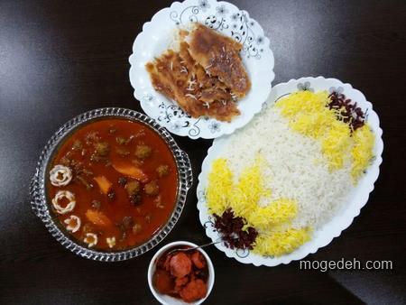 تزیین غذا و دسر,تزیین غذا و سفره آرایی,تزیین سفره شام مهمانی