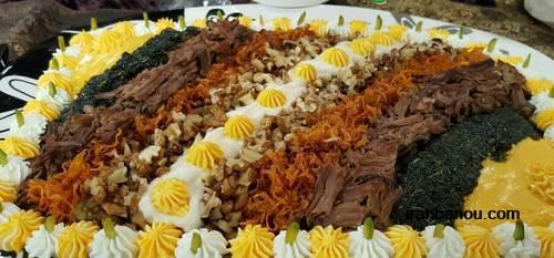 حلیم بادمجان با لوبیا سفید,طرز تهیه حلیم بادمجان اصفهانی
