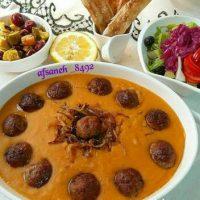طرز تهیه سوپ عدس ترکیه ای همراه با فیلم آموزشی