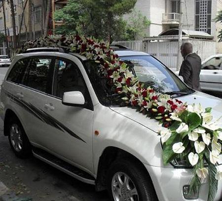 مدل ماشین عروس, تزیین ماشین عروس