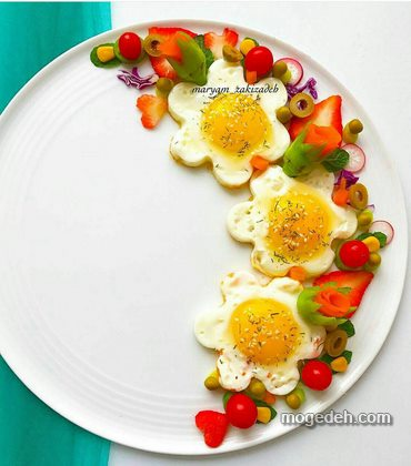نیمرو صبحانه