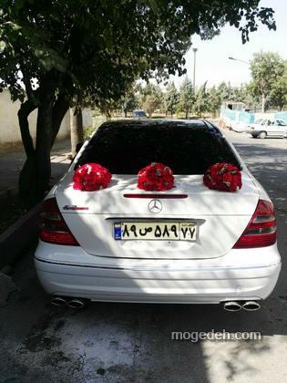 تزیین ماشین عروس قدیمی