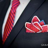 اصول خرید و پوشش دستمال جیب و کراوات را بدانید