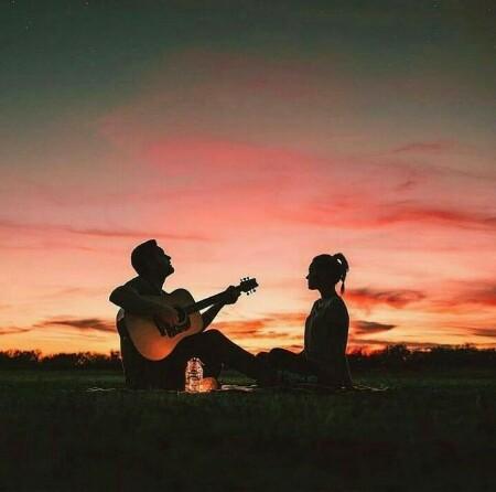 عکس رمانتیک دخترونه