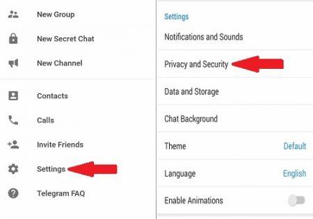 اضافه شدن به گروه در تلگرام