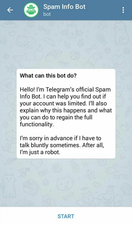 رفع ریپورت تلگرام فوری