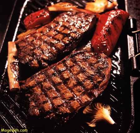 طرز پخت گوشت آب پز