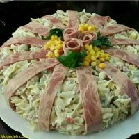 طرز تهیه سالاد کالباس و سبزیجات خوشمزه دو نوع