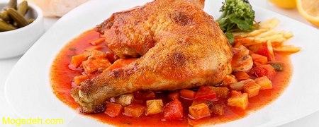 چگونه مرغ را آبپز کنیم