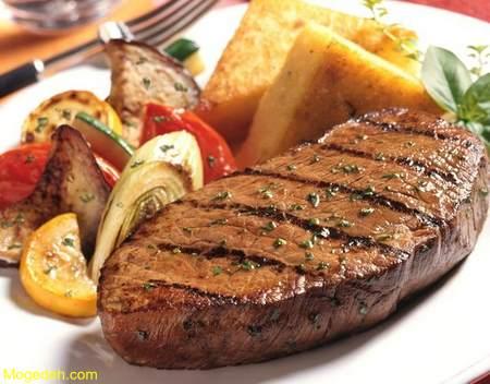 طرز تهیه استیک گوشت