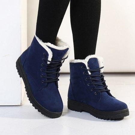 کفش زمستانی در جدول