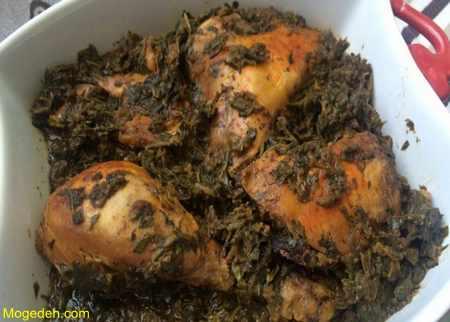 مرغ ترش بدون سبزی