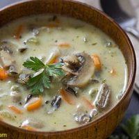 طرز تهیه سوپ قارچ مجلسی و خوشمزه