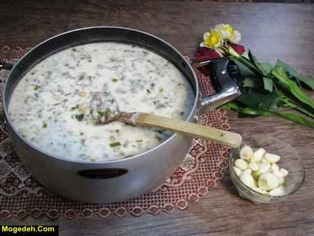 Photo of طرز تهیه آش دوغ محلی اردبیل خوشمزه