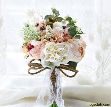 کانال اموزش دسته گل عروس