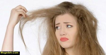 درمان سوختگی مو با سشوار