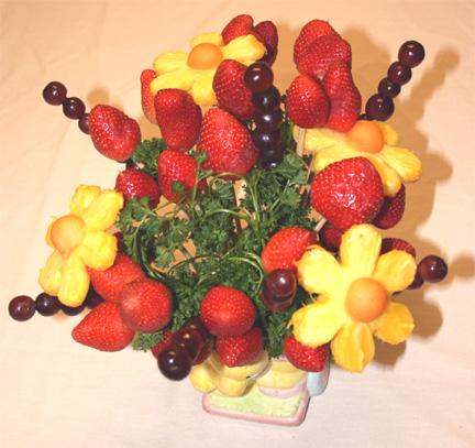 میوه آرایی ساده شب یلدا