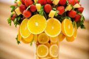 عکس میوه آرایی ساده برای شب یلدا و مهمانی