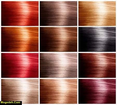 عوارض رنگ موی مشکی