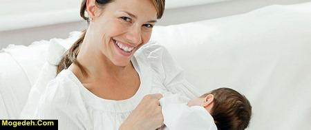 پریدن شیر در حلق نوزاد