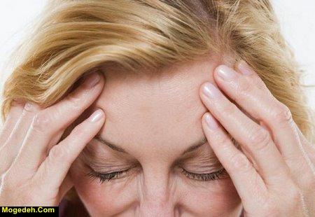 درمان سردرد بعد از گریه