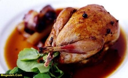 طرز تهیه غذا با گوشت بلدرچین
