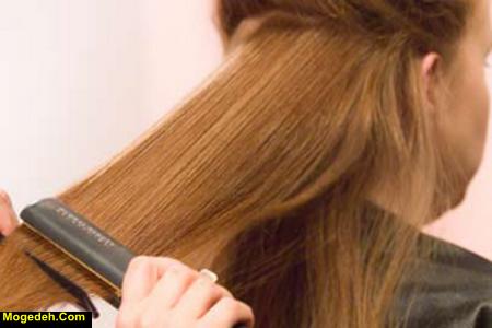 درمان موهای خشک و وز