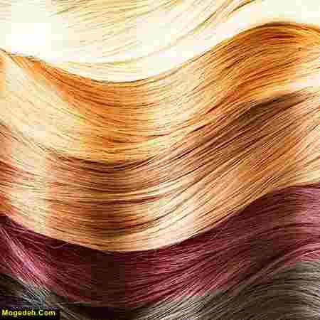 موهای بلند زیبا