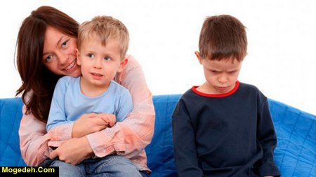 حسادت در کودکان دبستانی