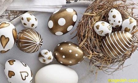 آموزش تزیین تخم مرغ هفت سین