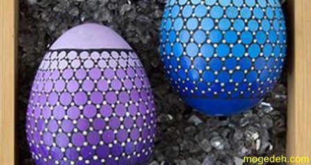 تزیین تخم مرغ به شکل خروس