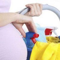 خانه تکانی در بارداری | کار منزل در دوران بارداری