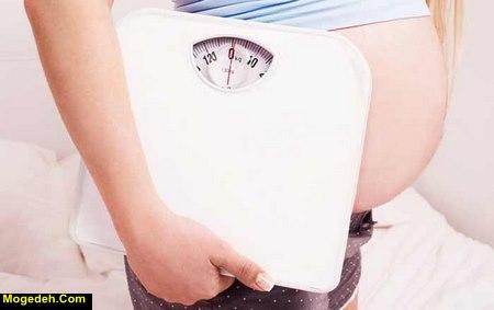 افزایش وزن ناگهانی در بارداری