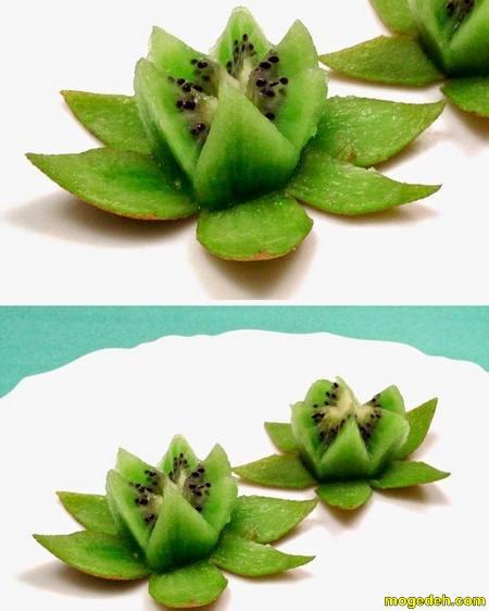 تزیین میوه روی اپن