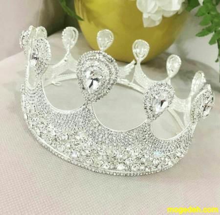 تاج عروس مدل ملکه ای