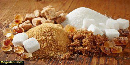 ضررهای شکر و نمک