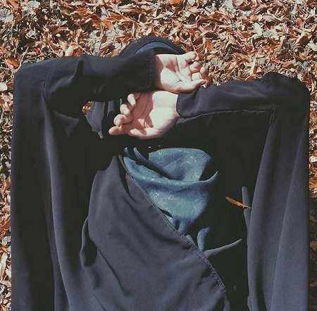 عکس دختر محجبه چادری
