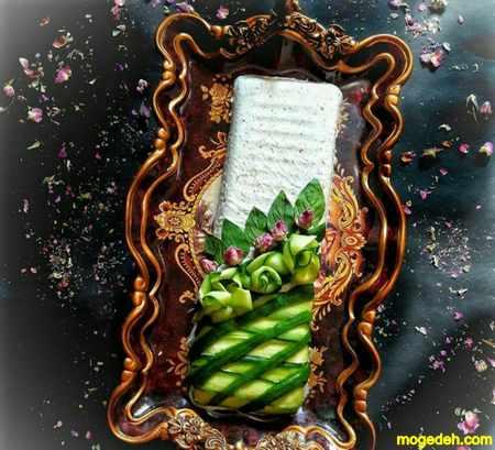 دستور ماست و خیار قالبی