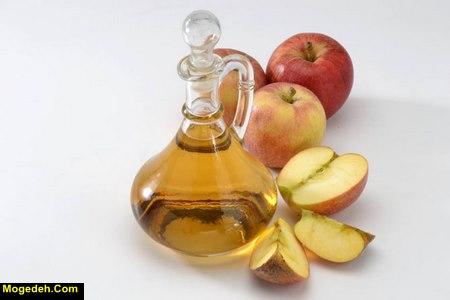 روش استفاده از سرکه سیب برای ریزش مو