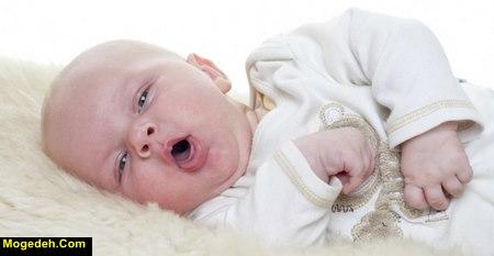 علت نفخ نوزاد