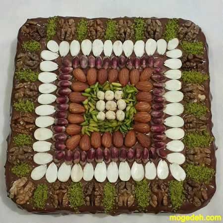 عکس کیک شکلاتی خانگی