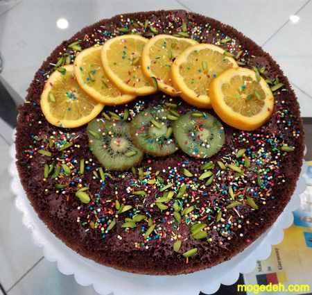 آموزش تزیین کیک با خامه