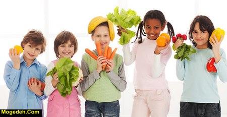 تغذیه برای بلند شدن قد کودکان