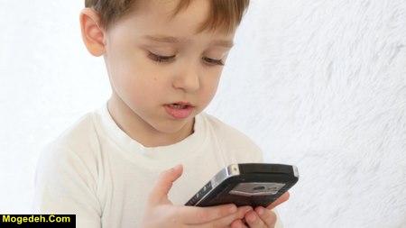 موبایل و نوزاد