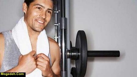 جوش زدن بعد از ورزش
