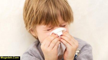 درمان سرماخوردگی کودکان در طب سنتی