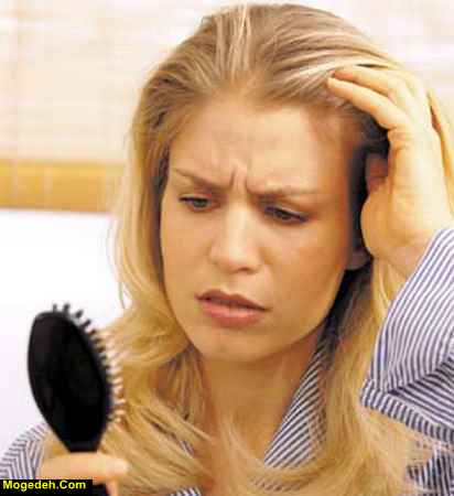 ریزش مو در دوران شیردهی نی نی سایت